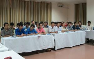 Tập huấn về hiến máu tình nguyện tại tỉnh Quảng Ngãi