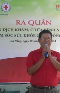 Chùm ảnh: Hội Chữ thập đỏ TP. Đà Nẵng phát động hưởng ứng Chiến dịch Khám, chữa bệnh nhân đạo và chăm sóc sức khỏe cộng đồng năm 2014