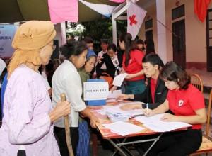 Hà Nam ra quân hưởng ứng Chiến dịch khám, chữa bệnh nhân đạo năm 2014
