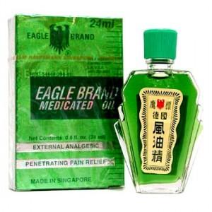Dầu Gió Xanh Eagle Brand 3ml