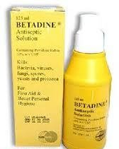 Dung dịch sát khuẩn Betadine Antiseptic Sol 10%