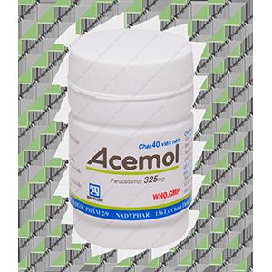 Thuốc Acemol