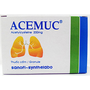 Thuốc Acemuc adult 200mg
