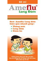 Thuốc Ameflu Siro Long Dom
