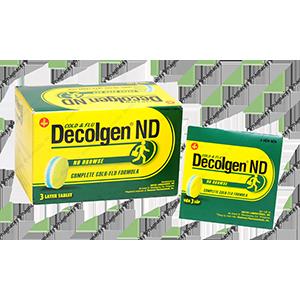 Thuốc Decolgen Không Buồn Ngủ