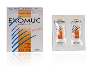 Thuốc Exomuc 200mg (gói)