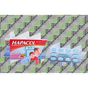Thuốc Hapacol Child 325mg