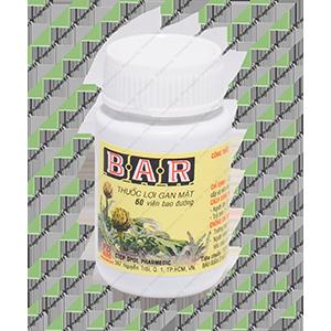 Thuốc Lợi Gan Mật B.A.R (60 viên)