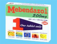 Thuốc Mebendazole 500mg