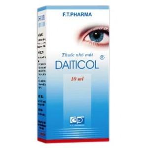 Thuốc nhỏ mắt Daiticol