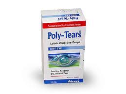 Thuốc Nhỏ Mắt Poly tears drop 10ml