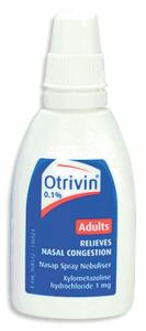 Thuốc nhỏ mũi Otrivin 0.1% Nasal Spray 10ml