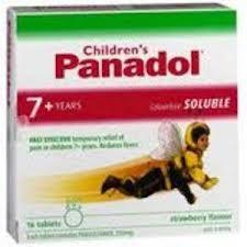 Thuốc Panadol Children Soluble 250mg