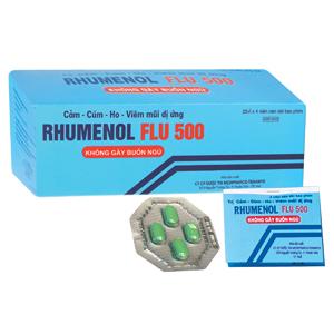 Thuốc Rhumenol Flu 500