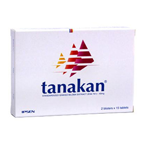 Thuốc Tanakan