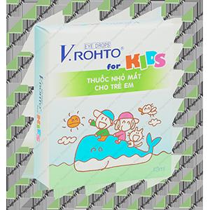 Thuốc Nhỏ Mắt V-Rohto for Kids