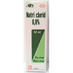 Thuốc Nhỏ Mắt Mũi Natri Clorid 0.9%