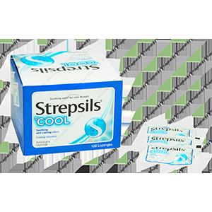 Viên ngậm Strepsils Cool (Menthol)