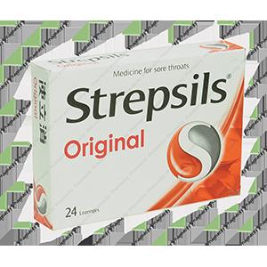 Viên ngậm Strepsils Original