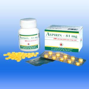 Tác dụng của thuốc aspirin 81mg - Tác Dụng Của Thuốc