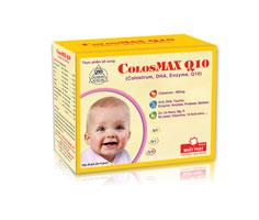 ColosMAX Q10 – Tăng đề kháng, bổ sung dưỡng chất cho trẻ