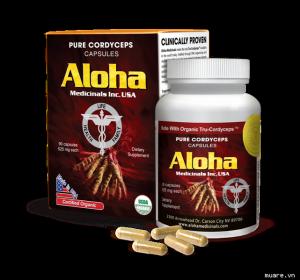 Đông trùng hạ thảo aloha mua ở đâu ?