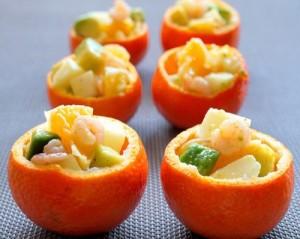 Salad cam ngon miệng, đã mắt cho thực đơn giản cân cuối tuần