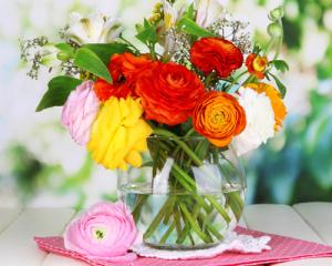 Mẹo giữ hoa tươi lâu hơn trong những giá lạnh