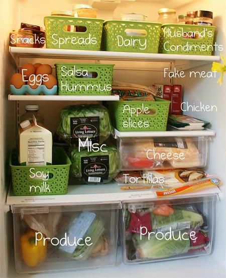 Sắp xếp thực phẩm hợp lý chính là bảo vệ sức khỏe cho cả gia đình bạn.