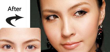 Hướng dẫn cách trang điểm cho đôi mắt to tròn đáng yêu