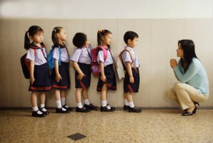 Teacher Pleading with Students