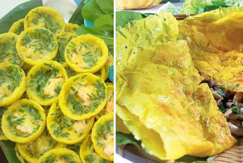 Cách làm bánh xèo ba miền Bắc – Trung –  Nam