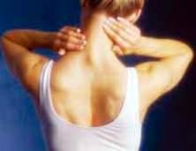 Hình minh họa đau cổ gáy