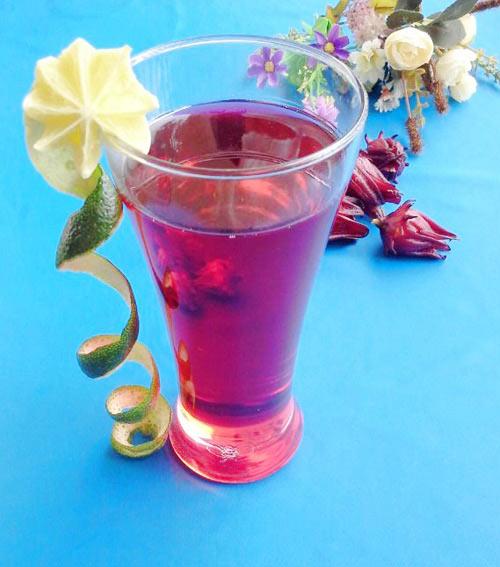 Chia sẽ cách ngâm hoa atiso đỏ làm nước uống