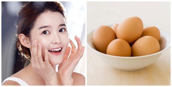 Mặt nạ trị mụn hiệu quả bằng trứng gà