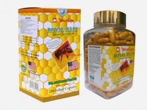 Sữa ong chúa blossom của mỹ