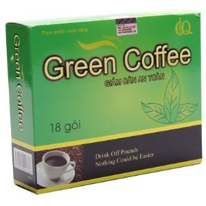 tra giam can green coffe