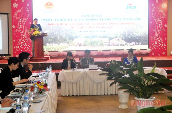 Phát triển du lịch nông thôn tỉnh Nghệ An
