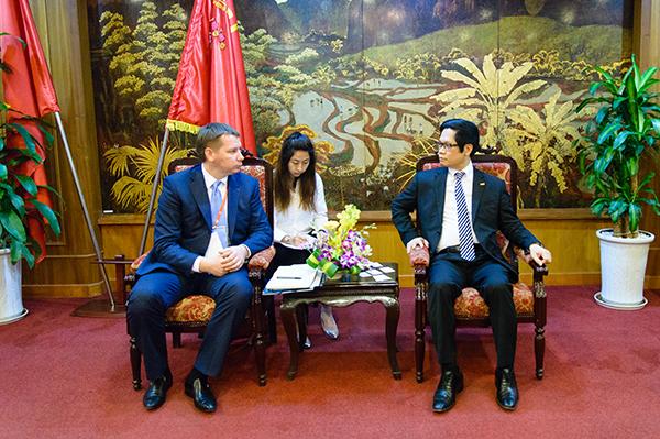 Ukraine muốn nhập khẩu gạo, cafe, cá từ Việt Nam