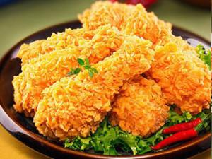 Cách làm món gà rán - Hoàn thành