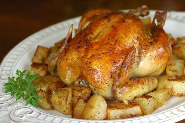 Cách làm món gà nướng đặc biệt