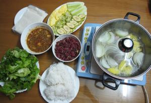 [Bò Nhúng Dấm 6] Bước 4: Bắt nồi lên nấu và thưởng thức
