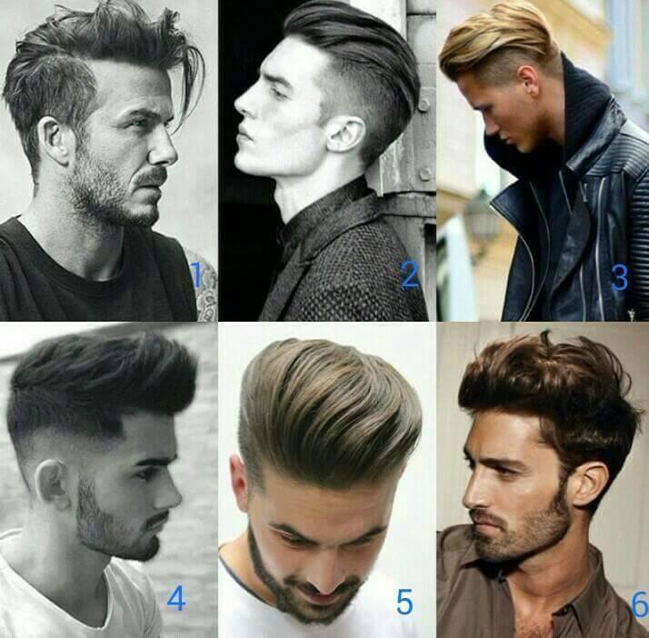 Các kiểu tóc sau khi sử dụng wax