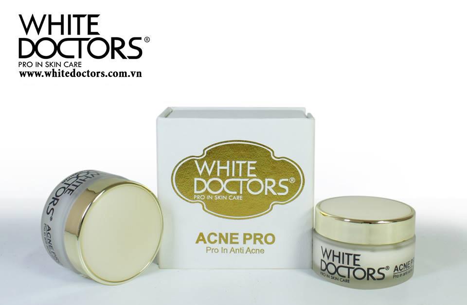 Kem trị mụn thâm và mụn sẹo mụn White Doctors Acne pro 170 ml - ms2023