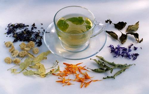 Herbal Tea --- Image by © Maximilian Stock Ltd/photocuisine/Corbis