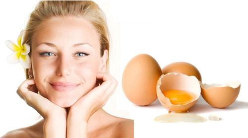 Làm đẹp từ trứng gà hiệu quả