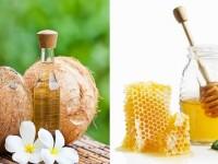 Phương pháp tẩy tế bào chết cho môi với dầu dừa và mật ong