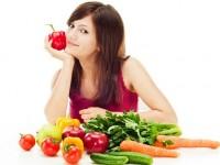 Chế độ ăn uống khi chăm sóc da nhờn tại nhà