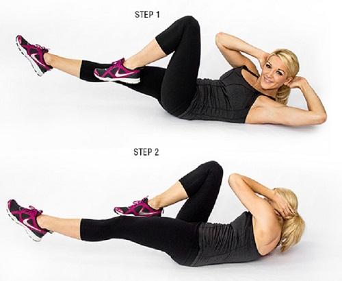 Bài tập giảm mỡ bụng chỉ mất 10 phút mỗi ngày.