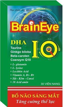 Thuốc tăng cường trí nhớ BrainEye